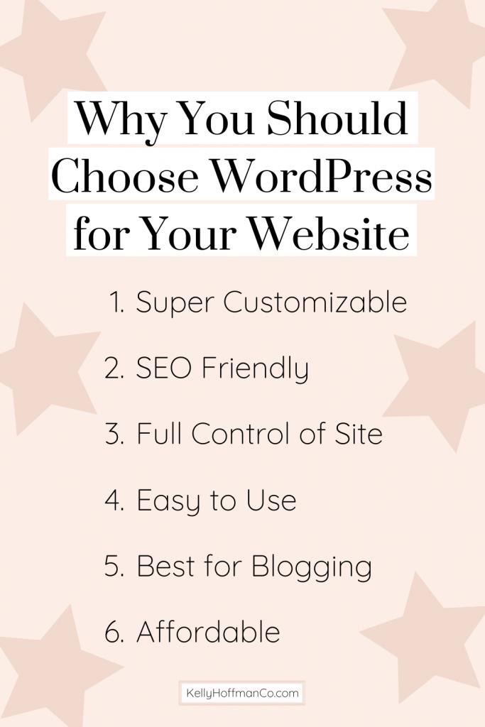 Benefits of using wordpress as website platform